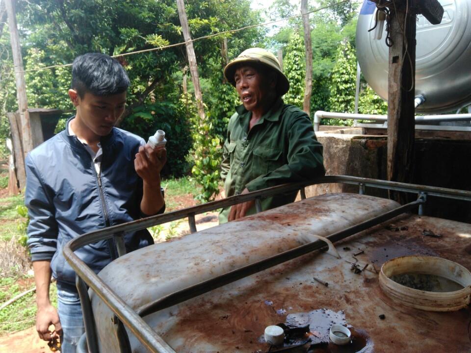 """""""Chương trình giới thiệu kỹ thuật quản lý dịch hại sùng đất, ve sầu trên cây cà phê và tuyến trùng gây hại trên tiêu"""" tại huyện Chư Păh, Tỉnh Gia Lai"""