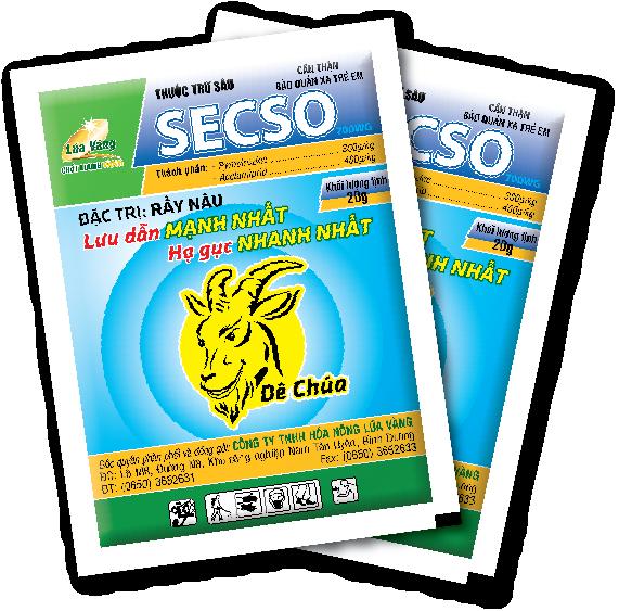Thuốc trừ rầy SECSO 500WP