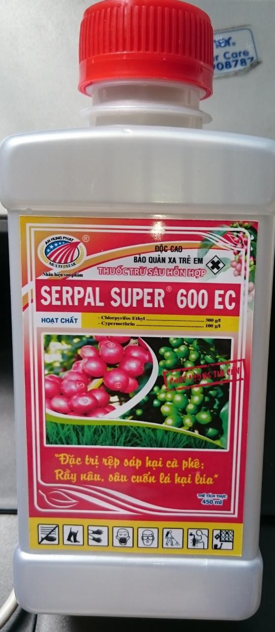 SERPAL SUPER 600EC