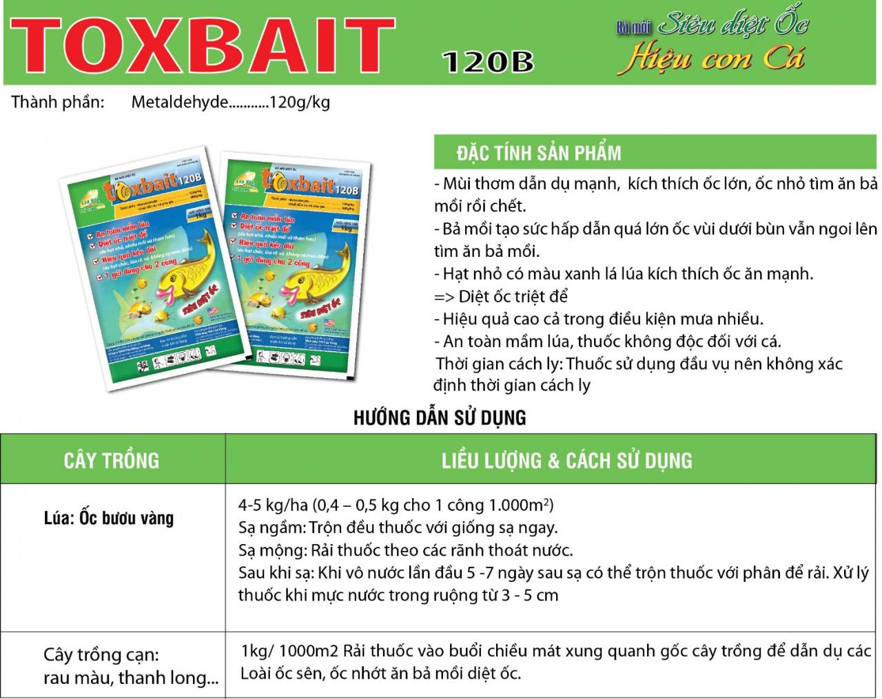 Toxbait 120AB
