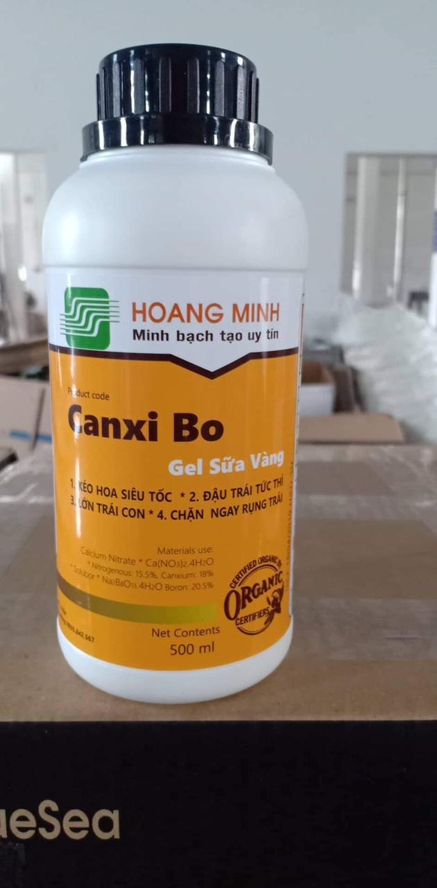 Canxi Bo Gel Sữa Vàng