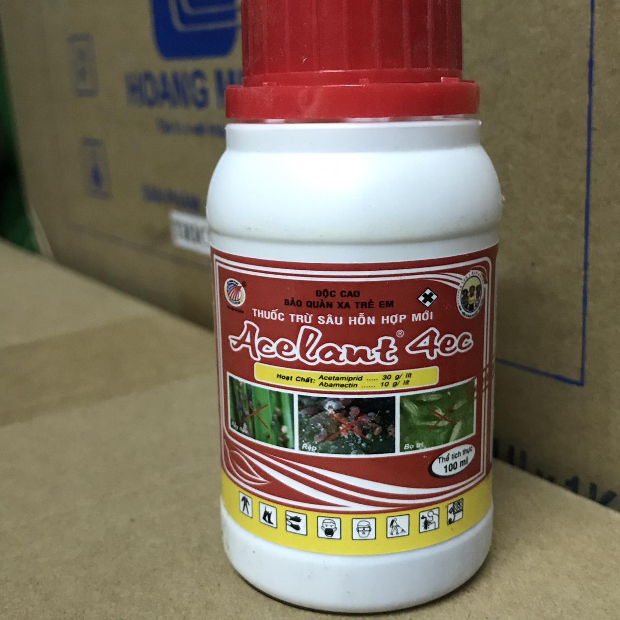 Thuốc đặc trị bọ trĩ, nhện đỏ ACELANT 4EC