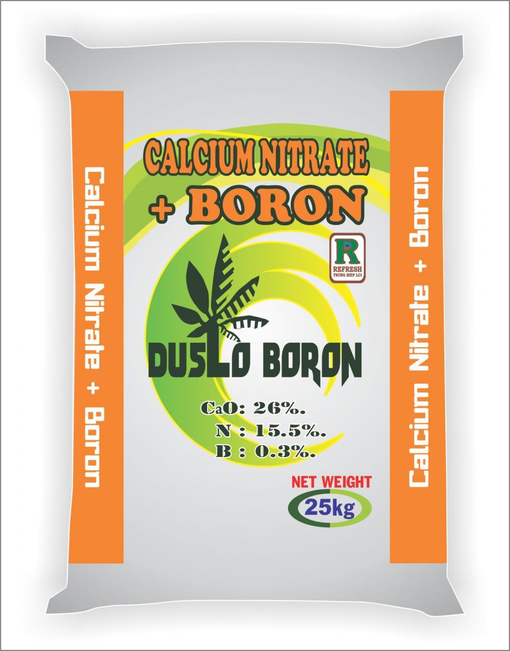 Calcium Nitrate + Boron