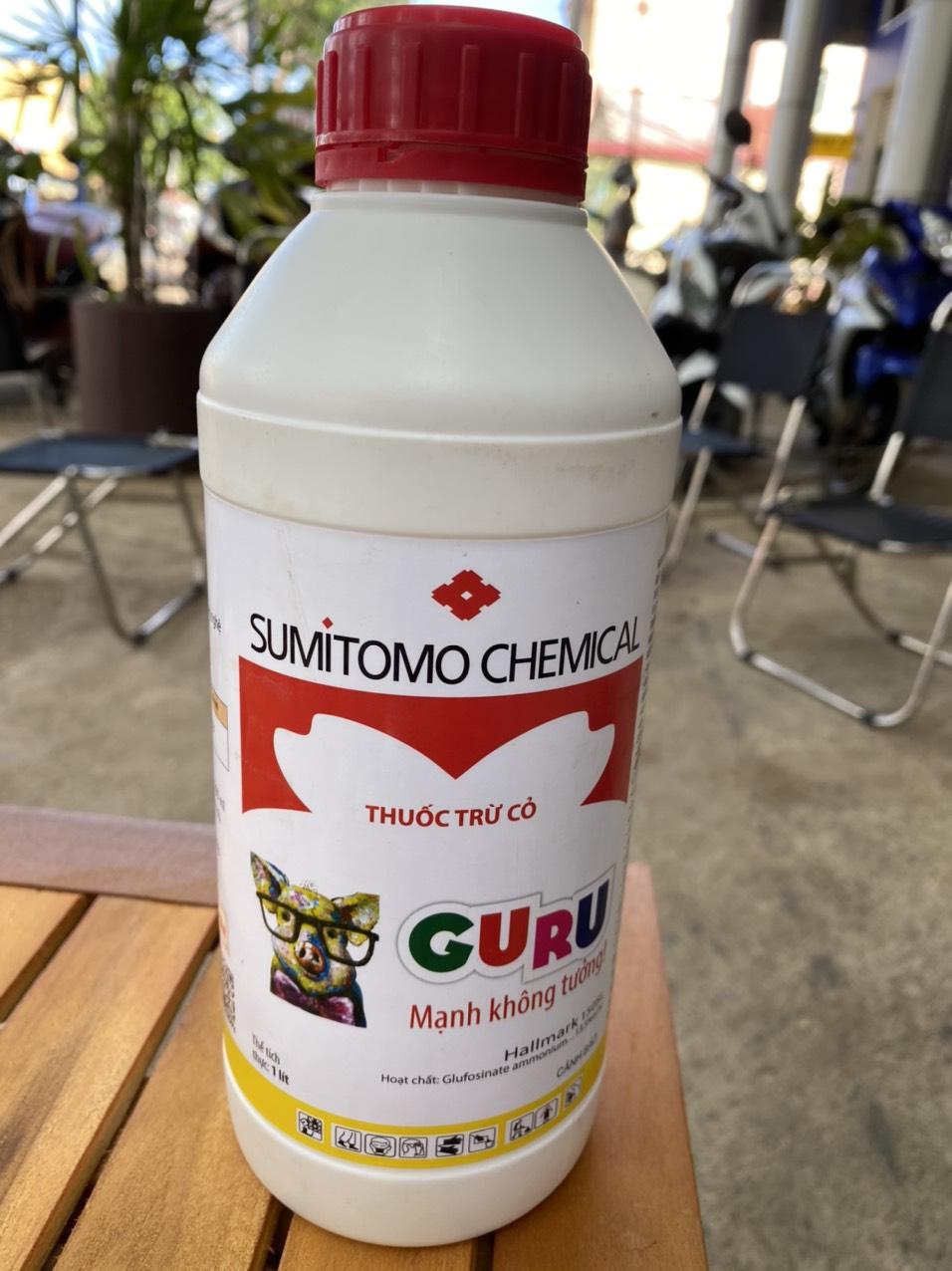Thuốc cỏ cháy thế hệ mới Guru 150SL