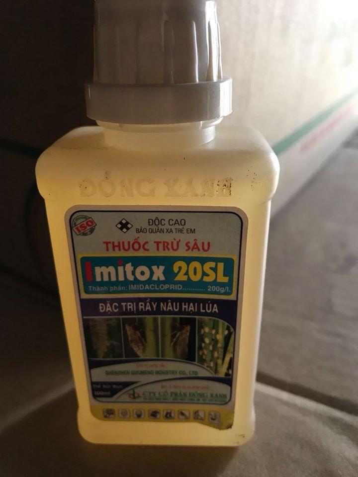 Imitox 20Sl – THUỐC TRỪ SÂU