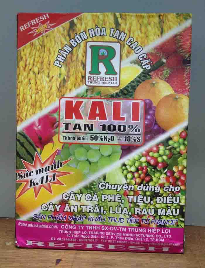 Kali tan 50% K20 – 18%S