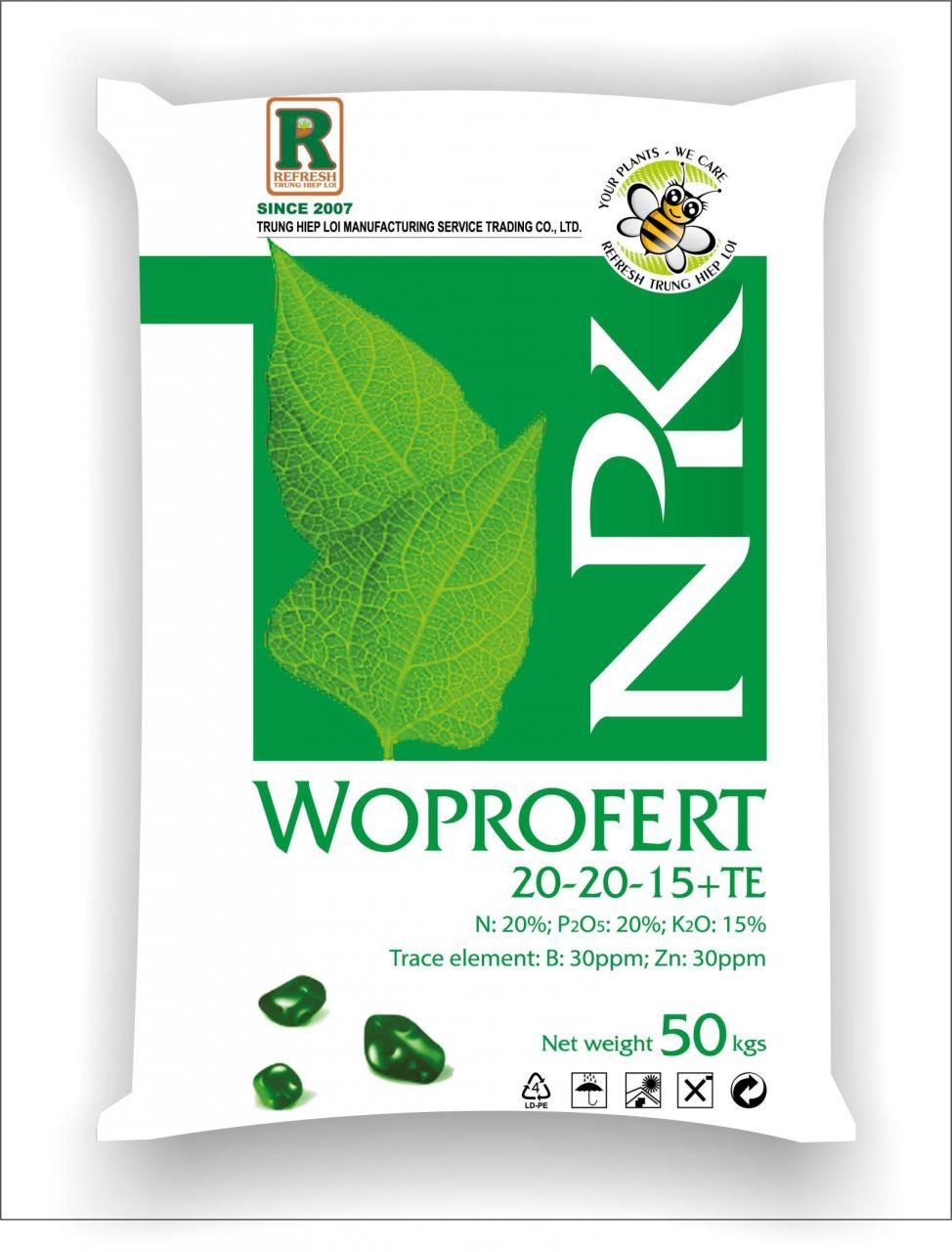 Phân phức hợp đa năng WOPROFERT® 20-20-15